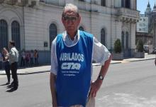 Carlos Levinez,  vicepresidente de la Mesa Coordinadora Nacional de Jubilados y Pensionados