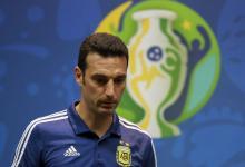 Copa América: Scaloni no confirmó el equipo, pero sí a Agüero entre los titulares