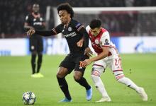 El entrerriano Lisandro Martínez fue titular en la derrota de Ajax ante Chelsea