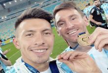 """El gualeyo Martínez dijo que """"quería salir a comerse la cancha"""" tras la arenga de Messi"""