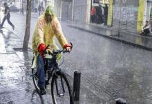lluvia torrencial en Paraná