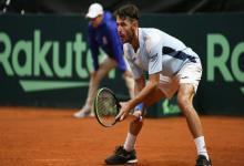 Tenis: Londero venció a Giraldo e igualó la serie por la Copa Davis