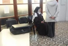 Luisa Toledo en los Tribunales de Gualeguay