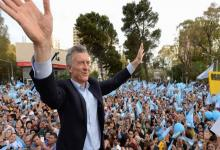 """Mauricio Macri está cumpliendo hoy la mitad del plan de marchas del """"Sí, se puede"""". La entrega de estas horas será Olavarría, Provincia de Buenos Aires, con María Eugenia Vidal."""