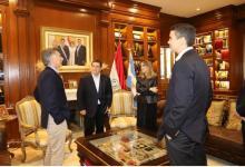 Mauricio Macri con Horacio Cartes