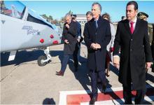 Macri con el presidente de Guatemala, Jimmy Morales