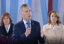 Macri encabezó el acto por el Día de la Bandera en Rosario
