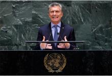 Macri ante la ONU