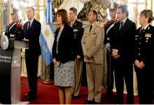 Macri homenaje