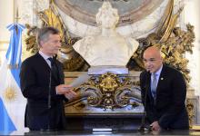 Mauricio Macri y Gustavo Arribas