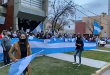 manifestación contra expropiación de Vicentín