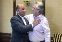 Juan Manzur con Alberto Fernández