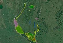 Presentaron el mapa de Áreas Naturales Protegidas de la provincia