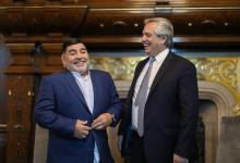Maradona y Fernández