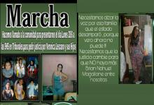 convocatoria Marcha por Verónica Lescano