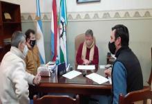 Firmaron el acuerdo salarial en el Municipio de María Grande