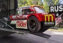 Turismo Carretera: el auto del paranaense Mariano Werner partió rumbo a Neuquén