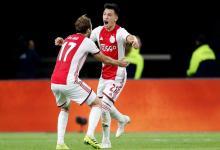El gualeyo Lisandro Martínez podría ser campeón sin terminar la temporada con Ajax