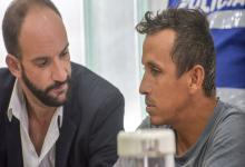 Jorge Martínez y su abogado