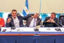 Se reunieron en Casa Rosada