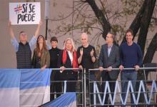 """El Presidente encabezó la primera de las marchas del """"Sí, se puede"""", que continuarán en Junín, Santa Fe, Córdoba y Entre Ríos."""