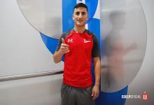 El entrerriano Mauro Díaz superó la revisión médica para llegar a Estudiantes de La Plata