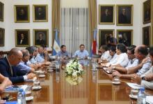 Reunión mesa de enlace y el gobierno