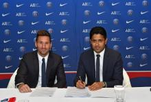 Ya es oficial: Lionel Messi firmó su contrato por dos años con el París Saint Germain