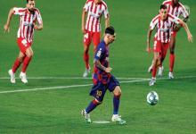 Lionel Messi llegó a los 700 goles, pero su festejo no fue completo