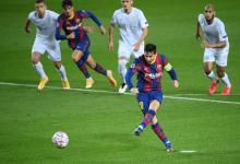 Messi abrió el marcador para la goleada del Barcelona en su debut por la Champions