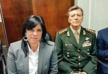 Milani en el juicio en La Rioja