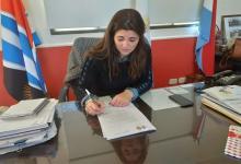 Imagen de archivo de Claudia Monjo, intendenta de la Municipalidad de Villaguay.