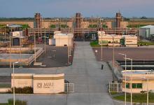 La planta de generación térmica en General Rojo, por la que MSU reclamó la devolución del IVA, pero fue rechazada.