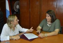 Marisa Paira puso en funciones a Mariana Broggi como secretaria de Mujeres, Género y Diversidad.