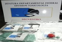 Los allanamientos se realizaron en Paraná y Bovril. Llamó la atención que en la imagen se referencie a la Departamental de Federal, cuando no fue nombrada en el comunicado de prensa.