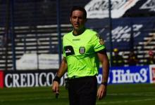 Definieron los árbitros para la fecha 12: Nazareno Arasa dirigirá Vélez-Patronato