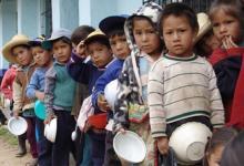 Niños pobres.