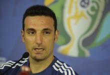 Copa América: Scaloni confirmó el equipo para el debut de Argentina