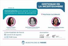 """""""Conversatorio sobre Gestión en Contextos de Incertidumbre"""""""