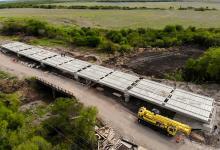 La obra del camino Bovril-El Solar asciende a 739 millones de pesos de inversión.