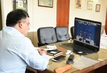Oliva reunión virtual
