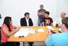 Martín Oliva con Colegio de Ingenieros
