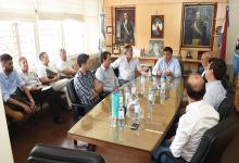 Reunión de intendentes del Departamento Uruguay