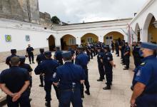 Ayer a las 14 en el patio de la Jefatura Departamental de Policía de Gualeguaychú, se realizó el lanzamiento del operativo de Seguridad Feriado del Carnaval.