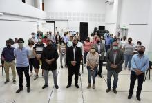 La ministra de Desarrollo Social, Marisa Paira, junto a autoridades locales y legisladores, entregó aportes en Villaguay, San Salvador, Colón y San José.