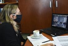 Marisa Paira reunión virtual