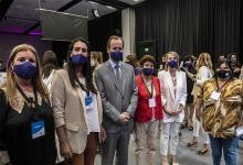 La presidenta del INADI, Victoria Donda, y la titular de Agua y Saneamientos Argentinos SA (AySA), Malena Galmarini, valoraron la ley que iguala a las mujeres en la política y en la sociedad entrerriana.