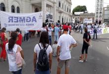 Este lunes, en coincidencia con el Paro Internacional de Mujeres, Agmer convocó al cuarto día de paro, que tendrá continuidad el jueves 11 y viernes 12.