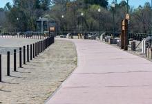 Parque Unzué en cuarentena