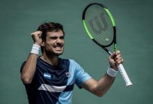 Copa Davis: Guido Pella puso en ventaja a Argentina frente a España